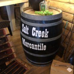 Salt Creek Mercantile Vintage Wine Barrel