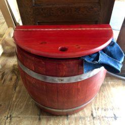 Half Barrel Storage Bin