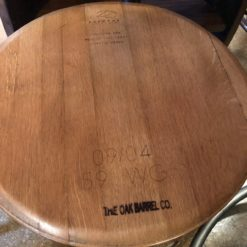 Ring Side Table Top (lt. Coffee finish)